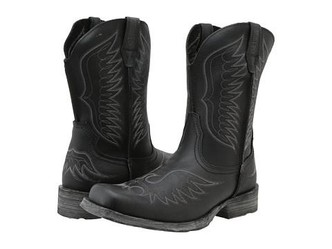 Ariat - Rambler Phoenix (Black Pepper) Cowboy Boots