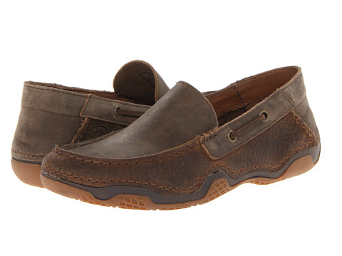 Ariat - Gleeson (Earth/Brown Bomber) Men's Slip on Shoes