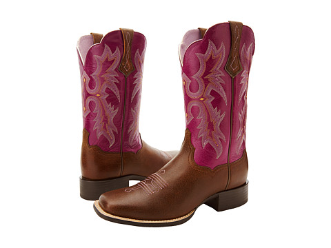 Ariat - Tombstone (Vintage Bomber/Plum) Cowboy Boots
