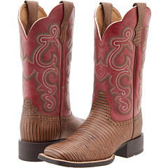 QuickDraw (Distressed Lizard/Watermelon) Cowboy Boots
