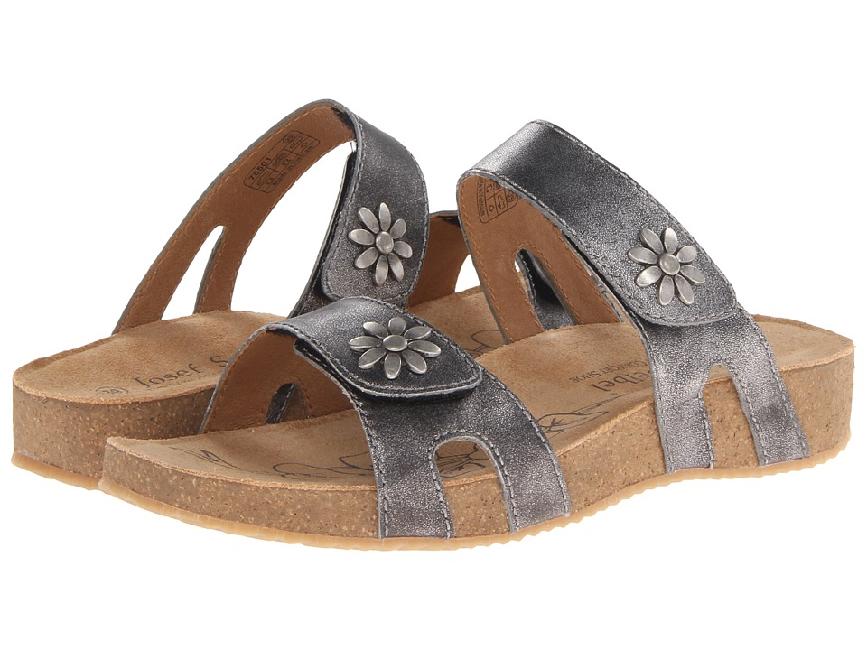 Josef Seibel - Tonga 04 (Basalt) Women's Sandals