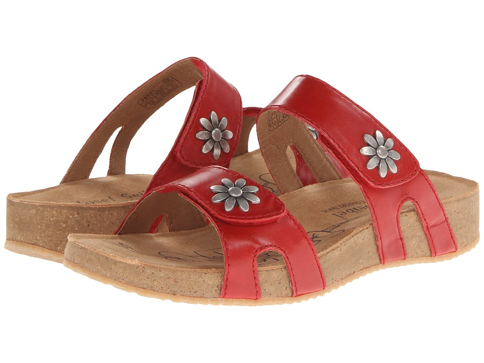 Josef Seibel Tonga 04 Red Womens Sandals