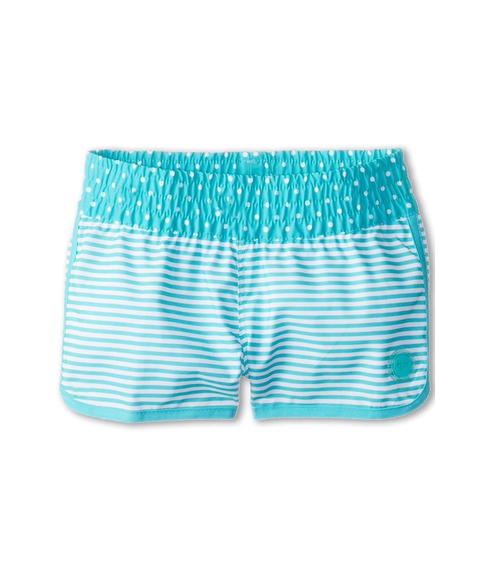 Roxy Kids Doll Face Loosen Up Boardie Girls Swimwear (Blue)