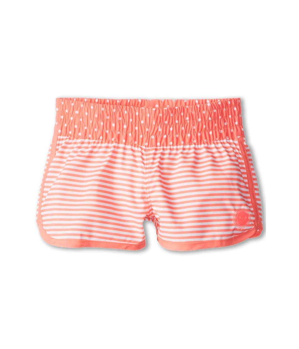 Roxy Kids Doll Face Loosen Up Boardie Girls Swimwear (Orange)