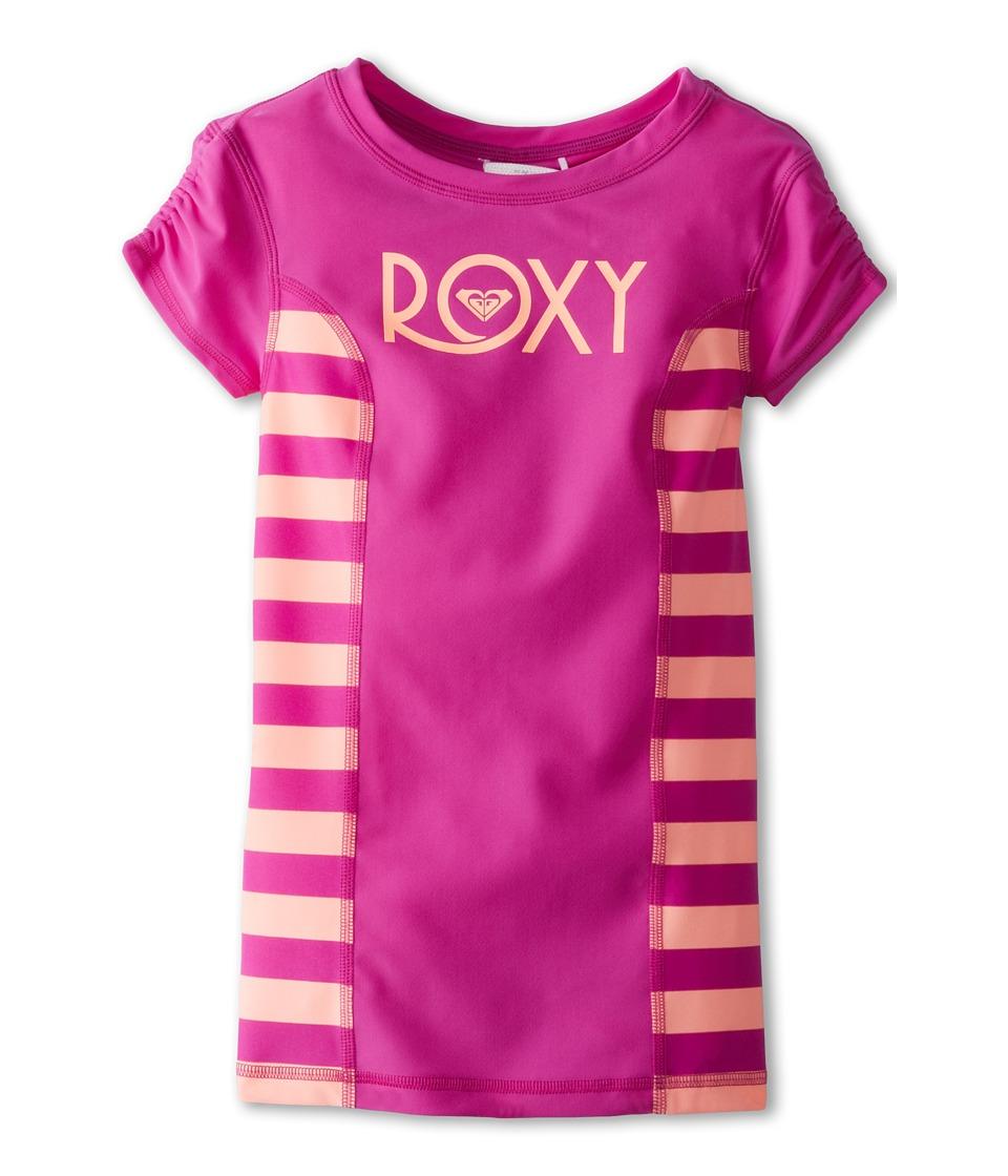 Roxy Kids Roxy Escape Low Tide S/S Rashguard Girls Swimwear (Pink)