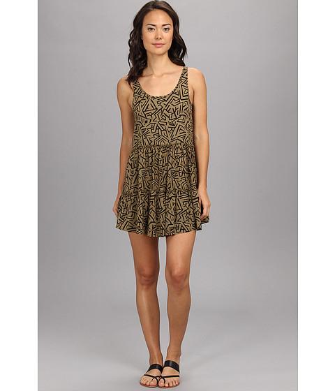 Vans - Ava Dress (Gothic Olive) Women's Dress