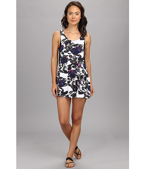 Vans - Ashley Dress (White) Women's Dress