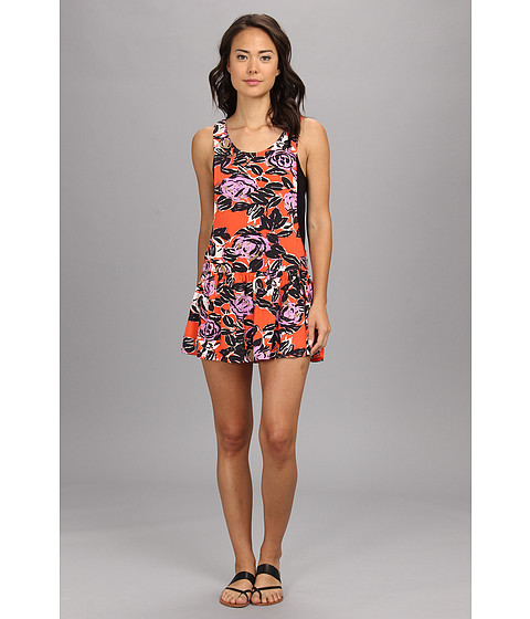 Vans - Ashley Dress (Neon Orange) Women's Dress