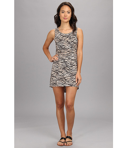 Vans - Leigha Dress (Black Animal) Women's Dress
