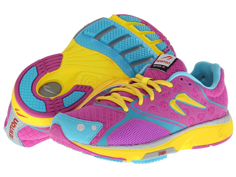 Newton Running - Motion III (Orchid/Yellow) Women's Running Shoes