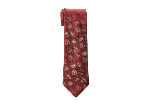 Kenneth Cole New York - Abstract Neat (Burgundy) Ties
