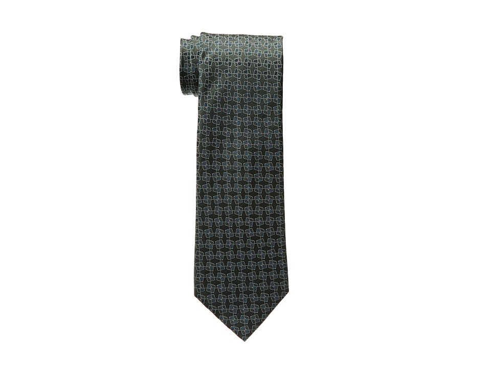 Kenneth Cole New York - Hightop Neat (Green) Ties