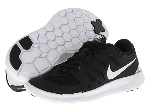 Nike Kids - Free 5 (Little Kid) (Black/Anthracite/White) Kids Shoes
