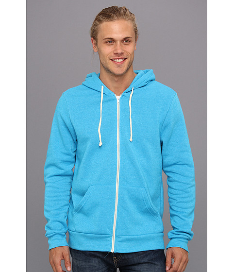 Alternative - Rocky Zip Hoodie (Eco True Vivid Blue) Men
