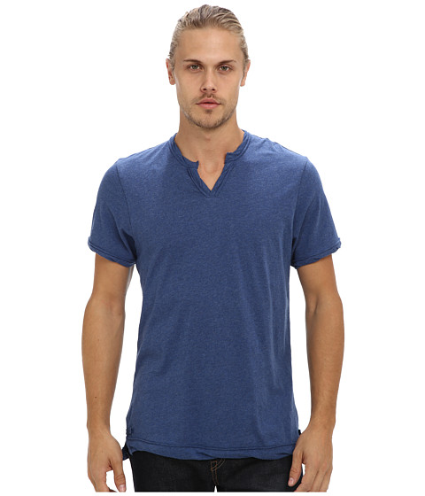 Alternative - Moroccan Tee (Lima Blue) Men's Short Sleeve Pullover
