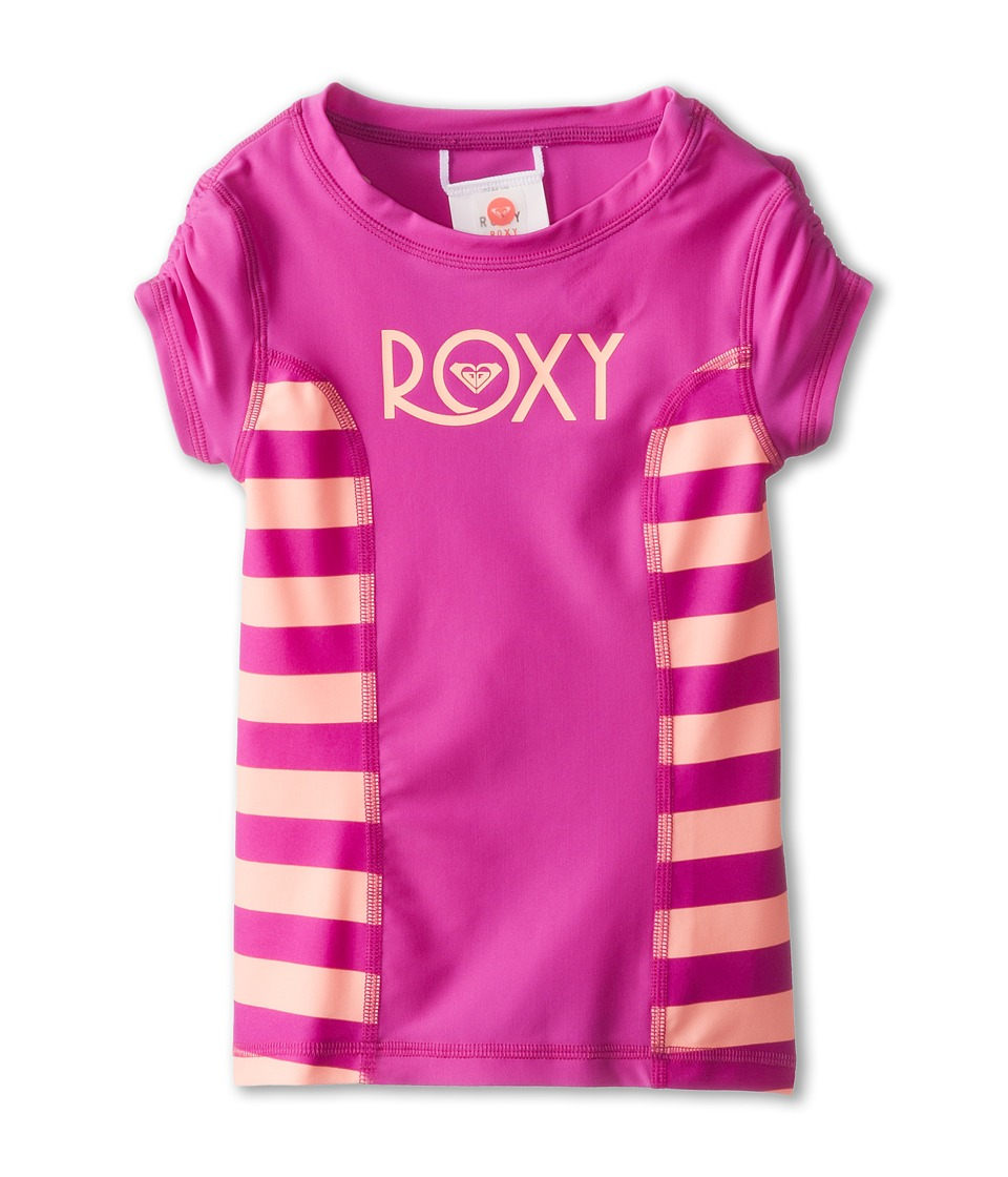 Roxy Kids Escape Rashguard Girls Swimwear (Pink)