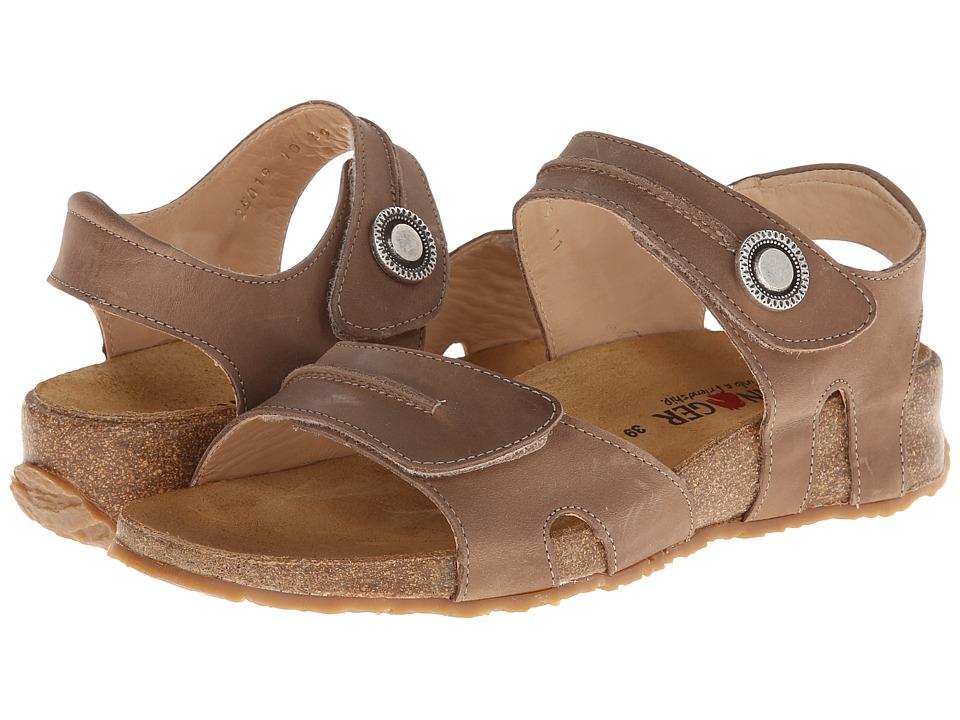 Haflinger - Patricia (Stone) Women's Sandals