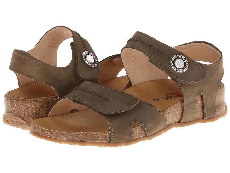 Haflinger - Patricia (Khaki) Women's Sandals