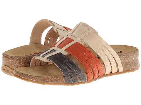 Haflinger - Pandora (Gunmetal/Manderin/Desert) Women's Sandals