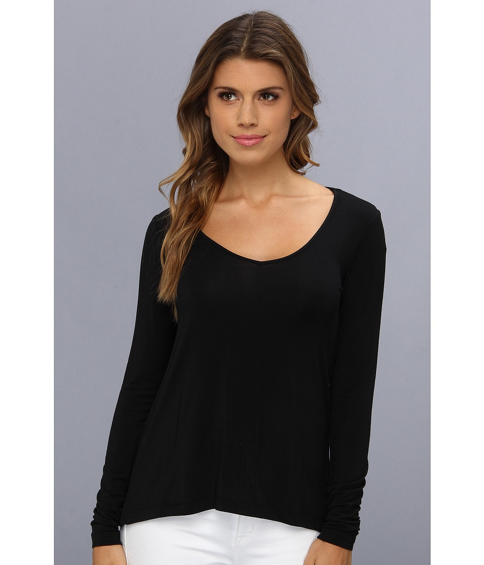 Tart - Heloise Top (Black) Women's Long Sleeve Pullover