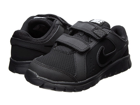 Nike Kids - Flex Experience LTR (Little Kid) (Black/Black/Black) Kids Shoes