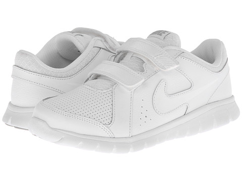 Nike Kids - Flex Experience LTR (Little Kid) (White/White/White) Kids Shoes
