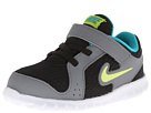 Nike Kids Flex Experience (Infant/Toddler) (Black/Turbo Green/Cool Grey/Venom Green)