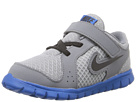 Nike Kids Flex Experience (Infant/Toddler) (Wolf Grey/Military Blue/Cool Grey/Black)