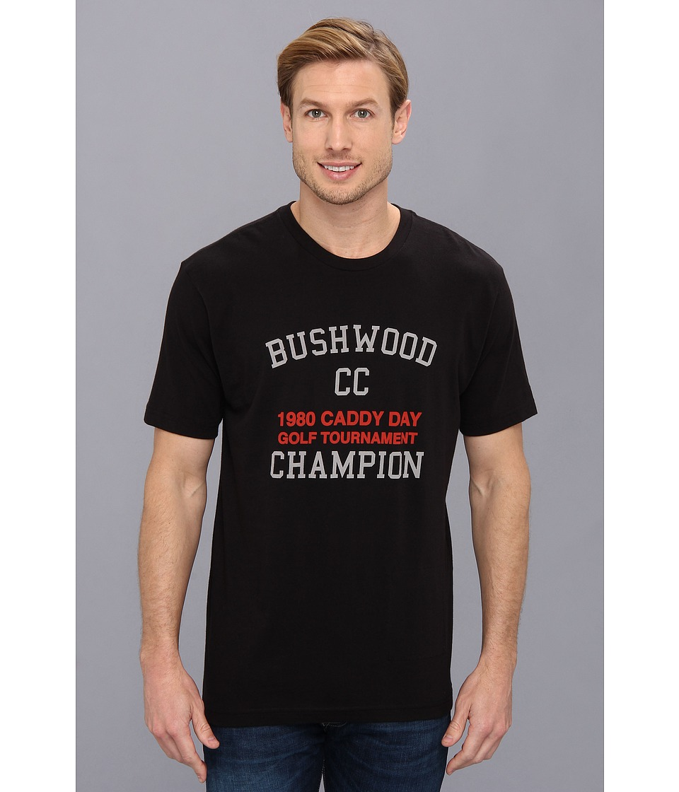 TravisMathew Bushwood T-Shirt (Black) Men