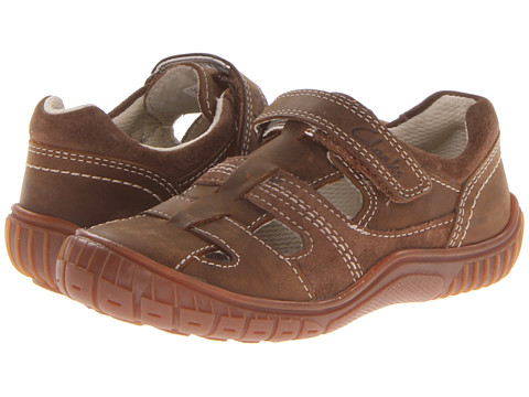 Clarks Kids - Rapper Sun (Toddler/Little Kid) (Brown) Boys Shoes