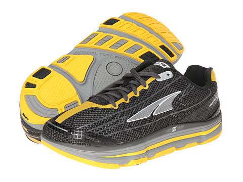 Altra Zero Drop Footwear - Repetition (Black/Lemon Chrome) Men