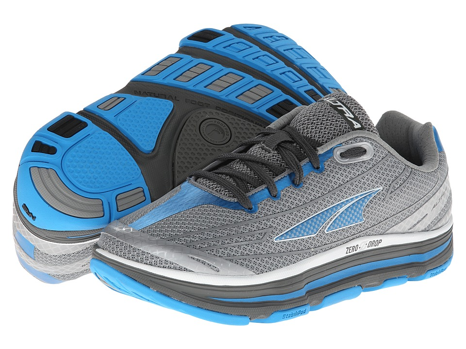 Altra Zero Drop Footwear - Repetition (Silver/Diva Blue) Women's Running Shoes
