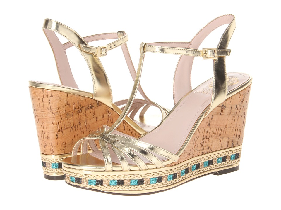 Vince Camuto - Tasha (Gold) Women's Wedge Shoes