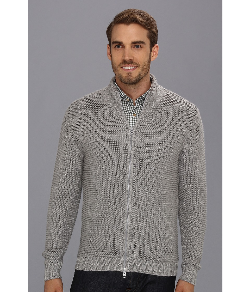 Scott James - Ebner Sweater (Grey) Men's Sweater