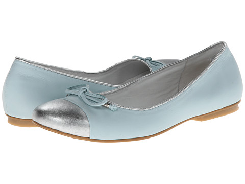 Kid Express - Padme (Toddler/Little Kid/Big Kid) (Mint Leather) Girls Shoes
