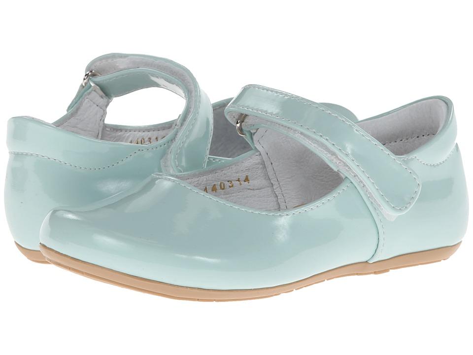 Kid Express - Bridget (Toddler/Little Kid) (Mint Patent) Girls Shoes
