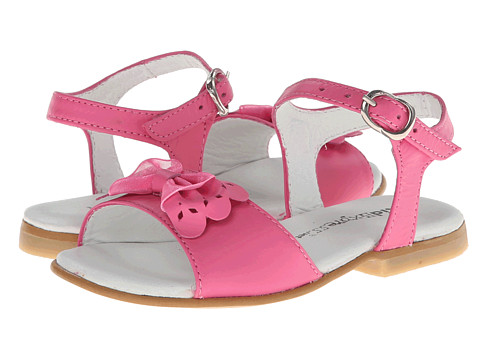 Kid Express - Carly (Toddler/Little Kid) (Fuchsia Leather) Girls Shoes