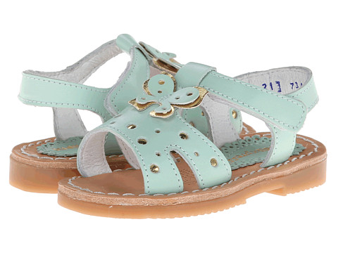 Kid Express - Margaux (Toddler/Little Kid/Big Kid) (Mint Leather) Girls Shoes