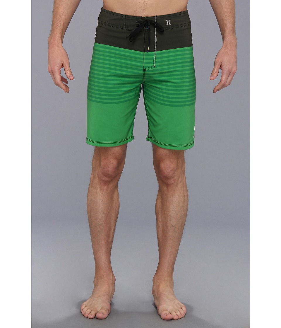 Hurley - Phantom Blockade Boardshort 19 (Neon Green) Men