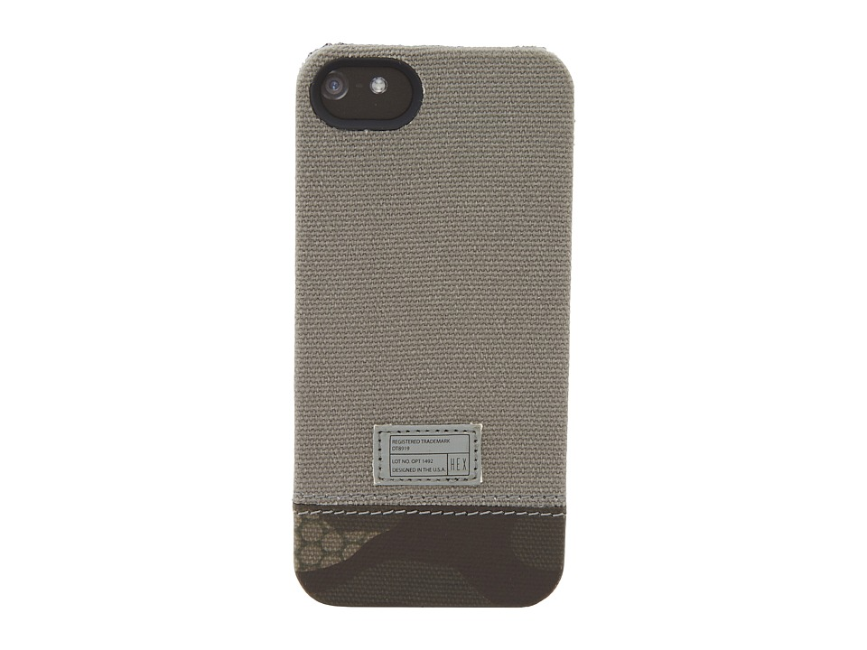 Hex - Focus Case - iPhone 5 (Grey) Cell Phone Case