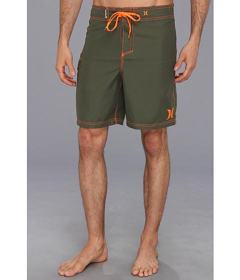 Hurley - One Only Boardshort 19 (Combat/Neon Orange) Men's Swimwear