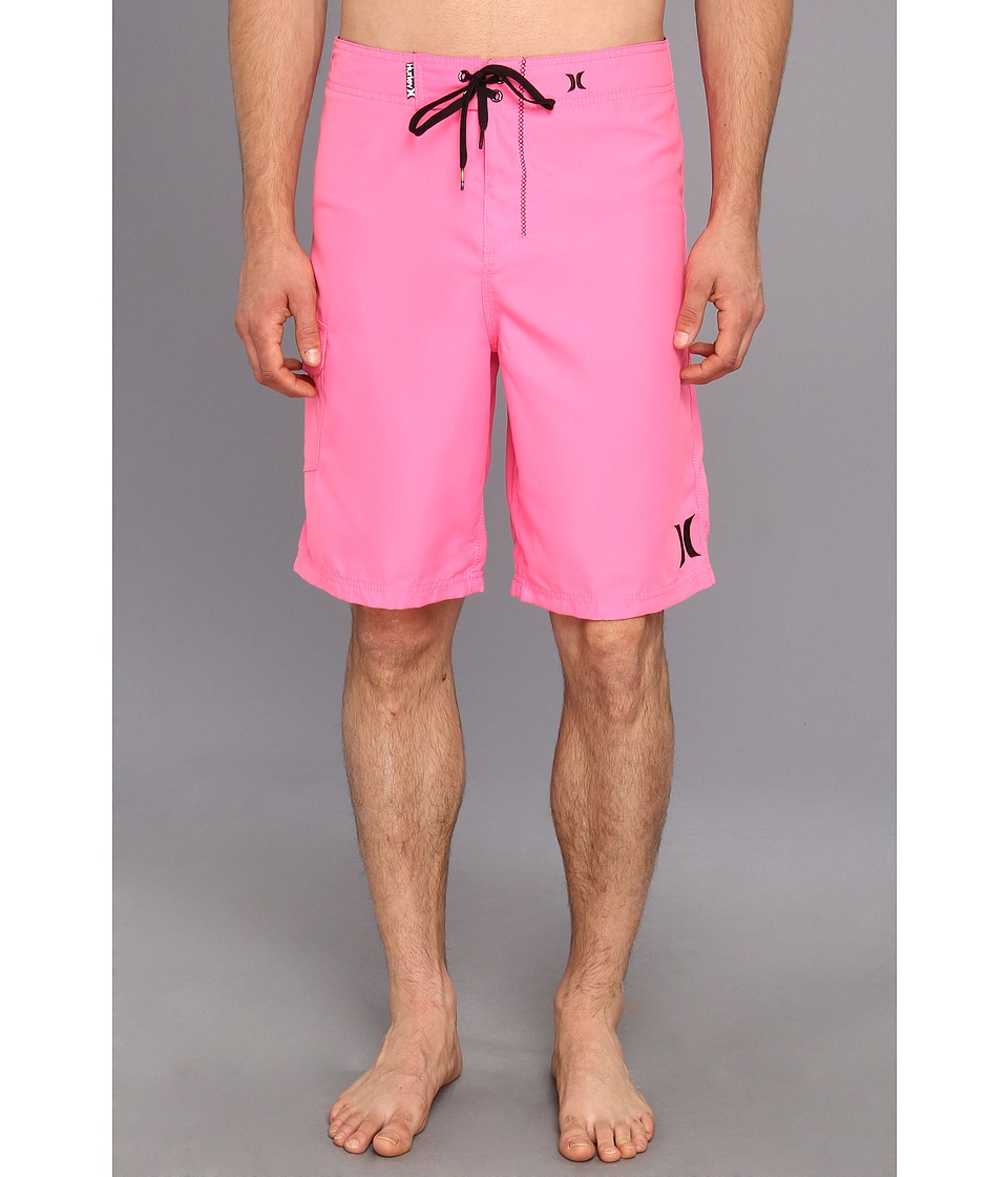 Hurley - One Only Boardshort 22 (Neon Pink) Men's Swimwear