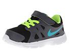 Nike Kids Revolution 2 (Infant/Toddler) (Black/Dark Grey/White/Turbo Green)