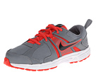 Nike Kids Dart 10 (Little Kid/Big Kid) (Cool Grey/Lt Crimson/White/Black)