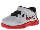 Nike Kids Flex Supreme TR 2 (Infant/Toddler) (Wolf Grey/White/Gym Red) Boys Shoes