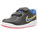 Nike Kids Pico 4 (Infant/Toddler) (Black/Laser Crimson/Atomic Mango/Military Blue)