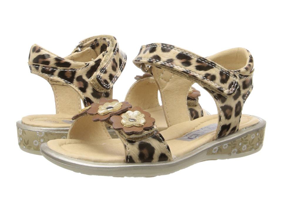 Beeko - Alina II (Toddler/Little Kid) (Brown) Girls Shoes