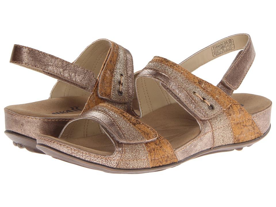 Romika - Fidschi 05 (Gold) Women's Sandals