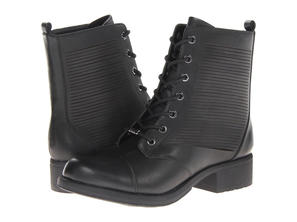 Circus by Sam Edelman - Gatson (Black) Women's Lace-up Boots