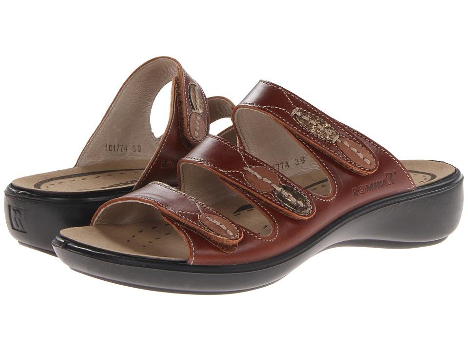 Romika - Ibiza 20 (Brandy) Women's Sandals